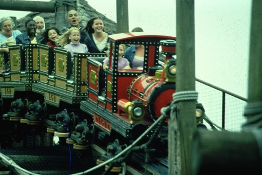The Runaway Mine Train at Alton Towers