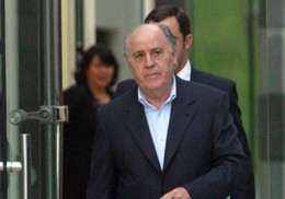 10)  AMANCIO ORTEGA, 73 years old, $18.3 B, Spain, Inditex Group