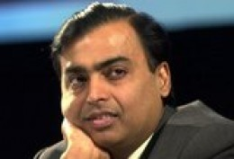 7)  MUKESH AMBANI, 51 years old, $19.5 B,  India,  Reliance Industries