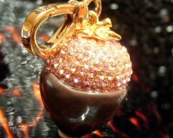 Juicy Couture Chocolate Strawberry Charm