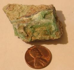 Garnierite mineral specimen