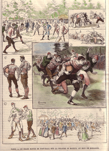 Old Rugby Football game