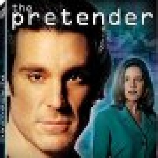The Pretender was a prodigy who was just trying to find his family, after escaping the think tank that had kidnapped him as a boy.