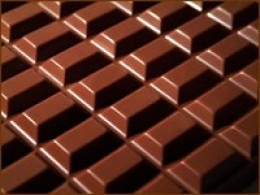 cubes of chocolate