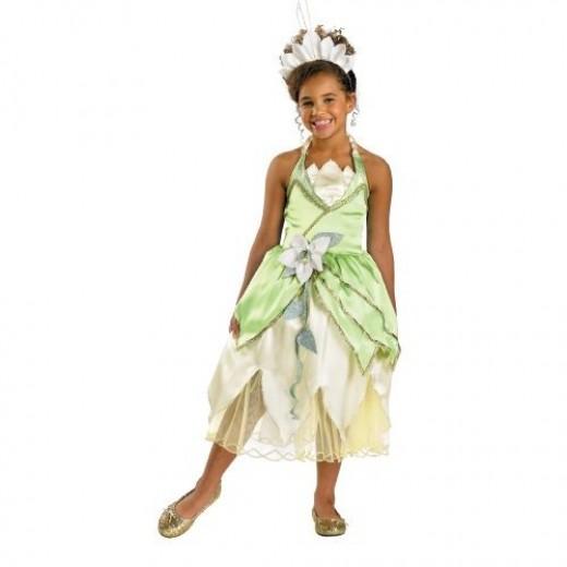 Princess Tiana Deluxe Costume