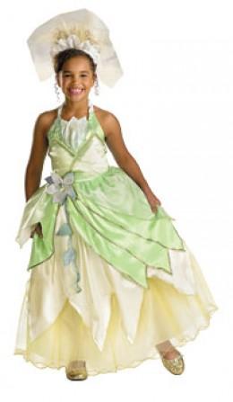 Princess Tiana Prestige Costume