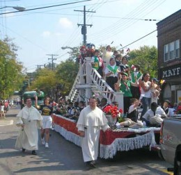Many Celebrate Columbus Day With A Parade