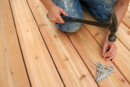 Installing the Decking