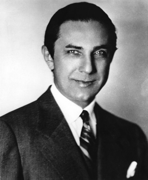 """Bela Lugosi in 1920. Quote: """"There was no male vampire type in existence. Someone suggested an actor of the Continental School who could play any type, and mentioned me."""" [Photos this page public domain unless otherwise credited.]"""