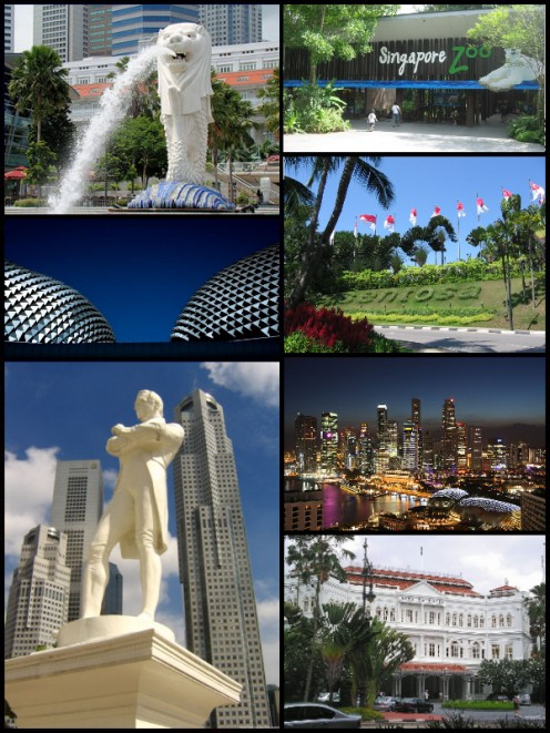 The Beautiful Tourist Spots in Singapore