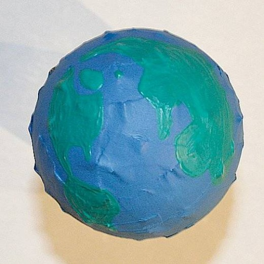 A Paper Mache Globe Is A Fun Way To Teach Geography And History