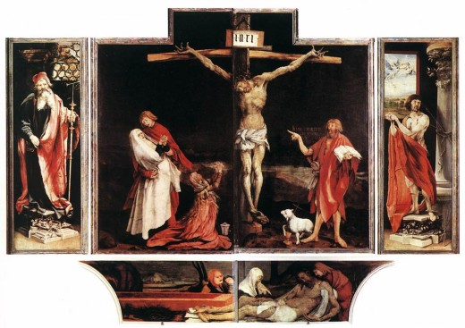 Closed Isenheim Altarpiece