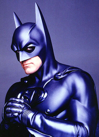 """Yeah ... I'm no Batman. Oh boy ... This is kinda embarrassing."" ~Clooney"