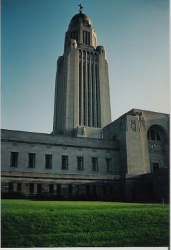 "The ""skyscraper of the plains"".  Nebraska's state capitol in Lincoln."