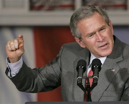 Say What You Want About President Bush, But When He Believed He Was Right He Didn't Care About What Others Thought
