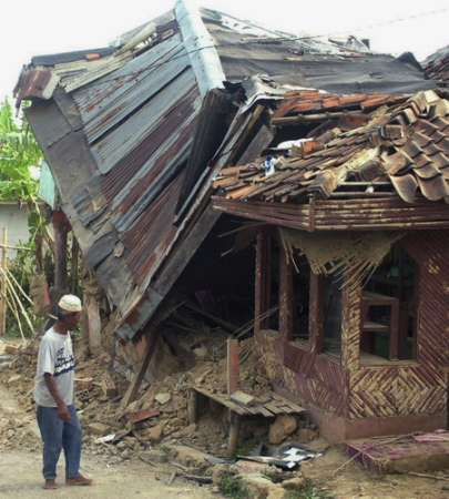 Tasikmalaya, West Java earthquake, 2009