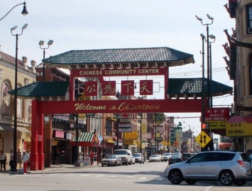 Chinatown-courtesy of my friend, Mary Wilson