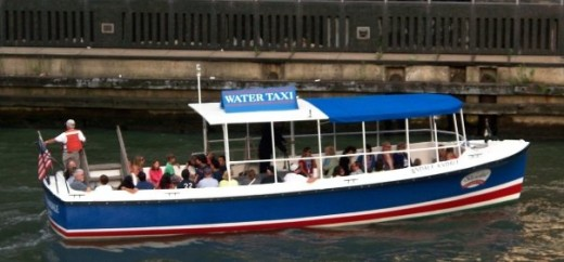 Water Taxi-courtesy of my friend, Mary Wilson