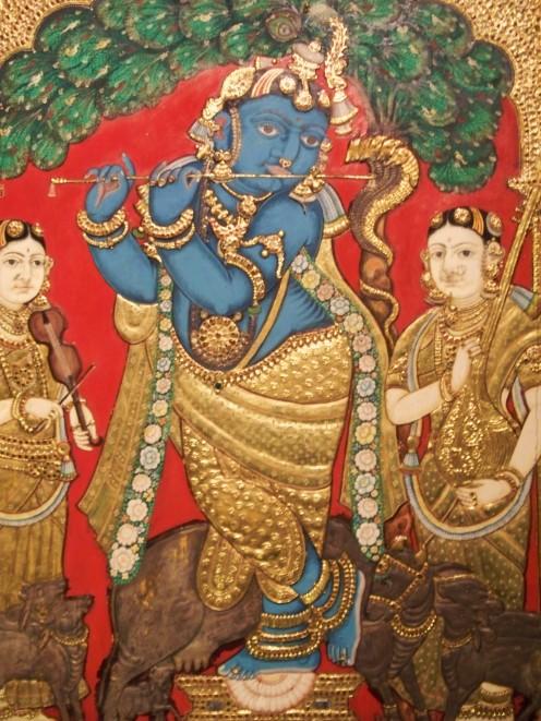 Dancing Krishna. Singapore