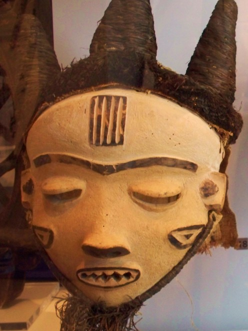 Spirit mask. Senegal, West Africa