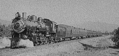 The railroad gave the town its name (public domain).