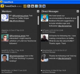TweetDeck a windows Twitter client
