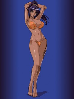 How hot do you think Yoruichi is?