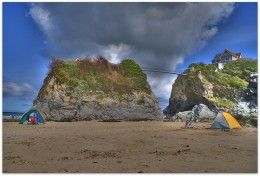 Newuqay Beaches, Cornwall: The Island, Towan Beach.