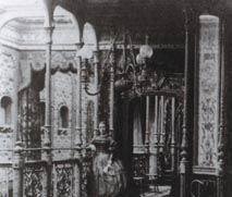 A rare photograph of the interior. The Great Eastern was   built for luxury, and would have rivalled the Mauretania or Titanic in its appointments.