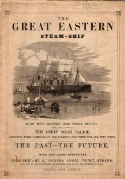 A booklet for the great ship.