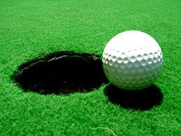 Golf ball and its faithful shadow