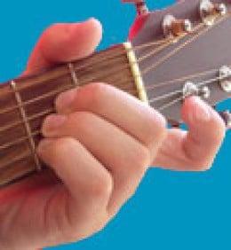 'A' chord