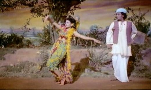 A scene from V.Shantharam's much appreciated film 'Navrang'