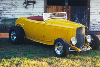 Owned by Sean Hammond of Melbourne.1932 Ford Hiboy