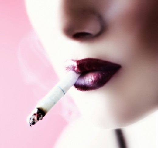 Women smoking can be a major turn-off for some guys.