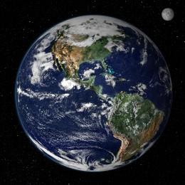 Credit: NASA - in true color.