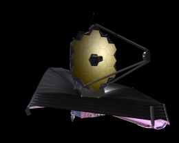 September 2009 artist conception of JWST. Credit: NASA