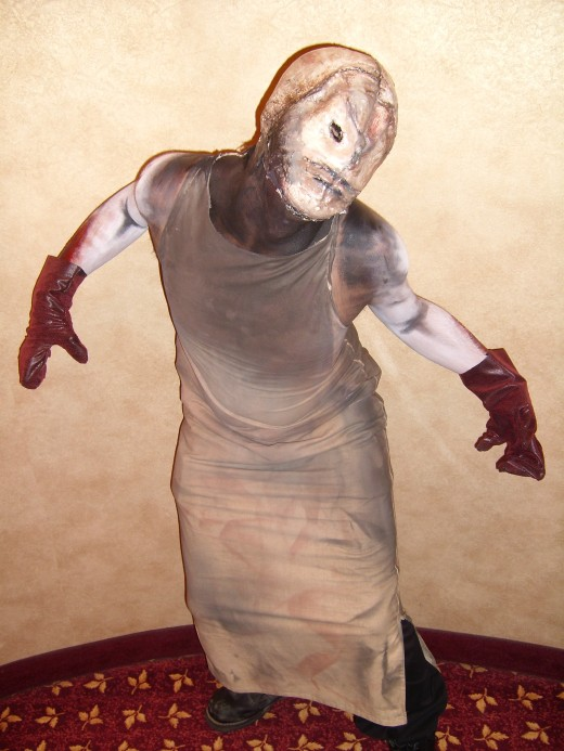 Creepy Demon. Silent Hill