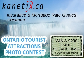 Ontario Tourist Attractions photo contest on Lenzr is sponsored by Kanetix.ca insurance & mortgage rate quotes