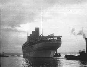 HMHS Britannic in war service