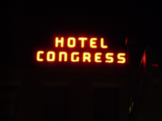 Hotel Congress in Tucson, Arizona