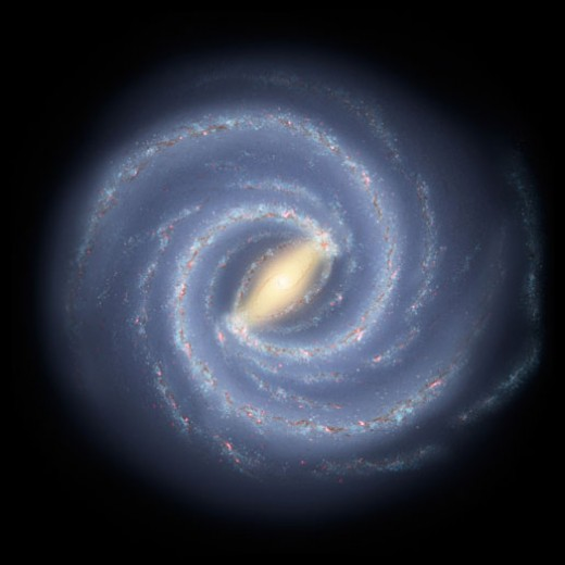 Milky Way artist impression/NASA