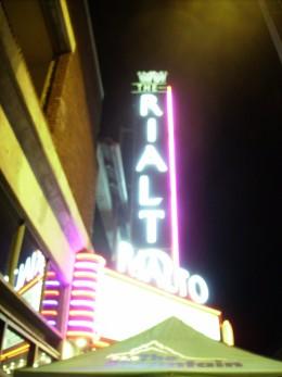 Rialto Theater in Tucson, AZ