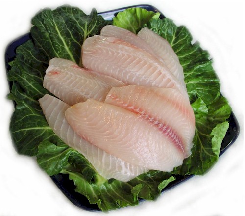 Tilapia is a white meated farm raised fish that is so delicious. Try it fried , baked , grilled or steamed. No matter how you cook it you'll find its one of the most delicious fishes ever.