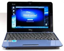 Asus Magic Blue Disney Netpal Netbook Computer