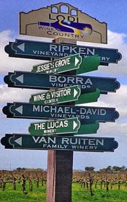 10 Must See Wineries in Lodi California.