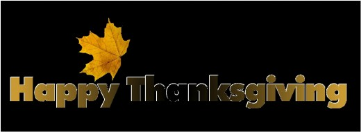 Happy Thanksgiving Banner style