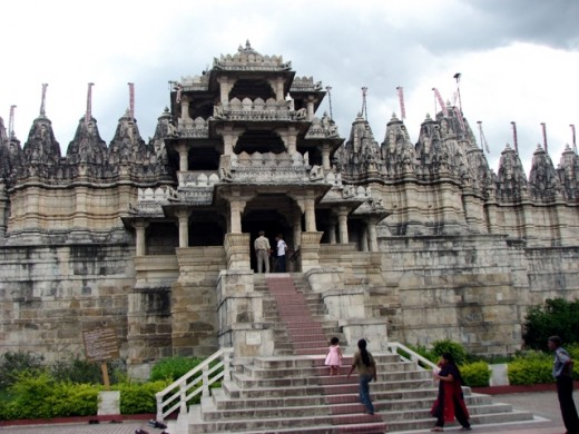AADINATH TEMPLE,built in 1439 AD.