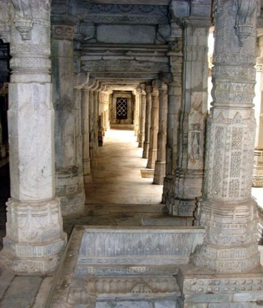 A few of the 1444 pillars.