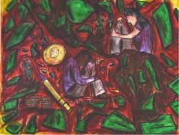 Painting by Colombian artist Farid de la Ossa Arrieta